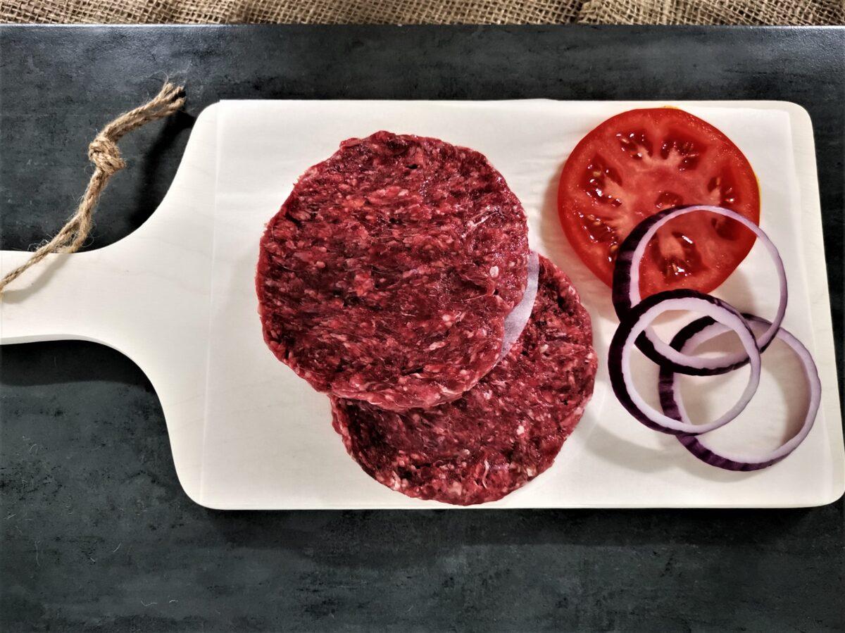 Brieža gaļas burgeru kotletes