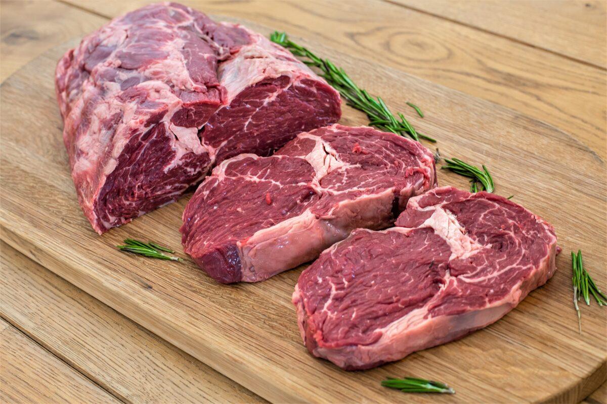 Nogatavināts Liellopa Ribeye steiks