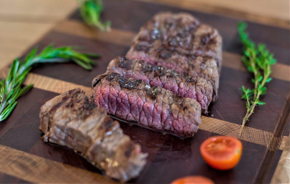 Nogatavināts Liellopa Sirloin steiks